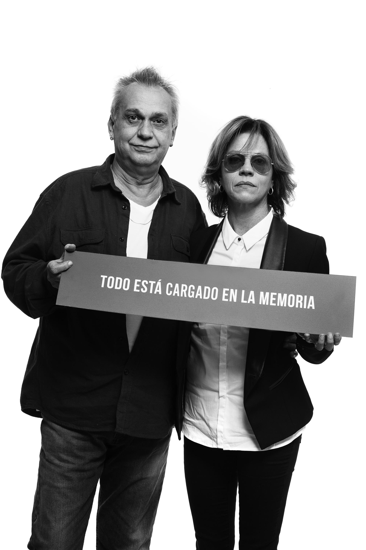 David Lebón y Marcela Morelo (Guido Chouela)