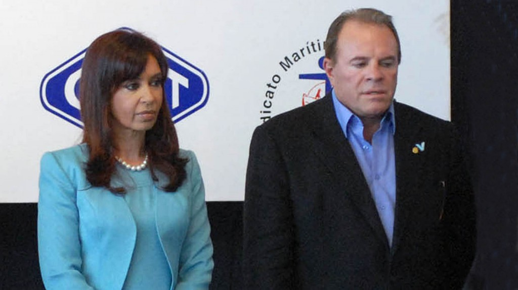 Suárez era uno de los sindicalistas preferidos por Cristina Kirchner (Télam)