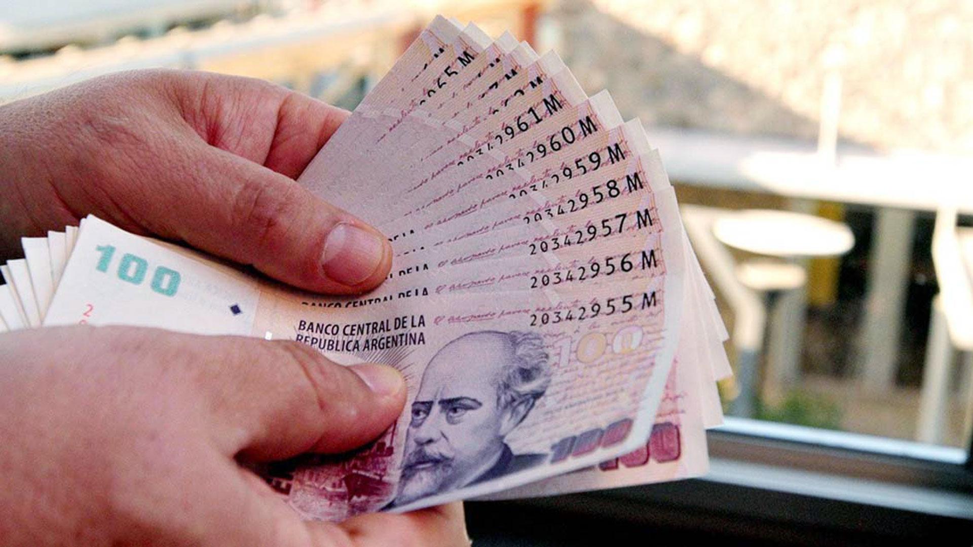 Los depósitos del sector privado aumentaron algo más que la inflación. (Infobae)