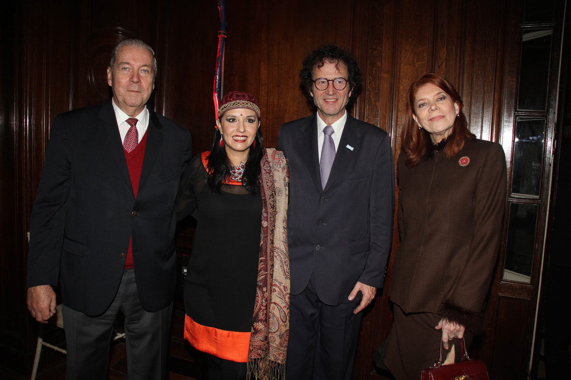 Alejandro Carlos Kipp, Jimena La Torre, Lucas Beccar Varela y Ana Lorenzutti