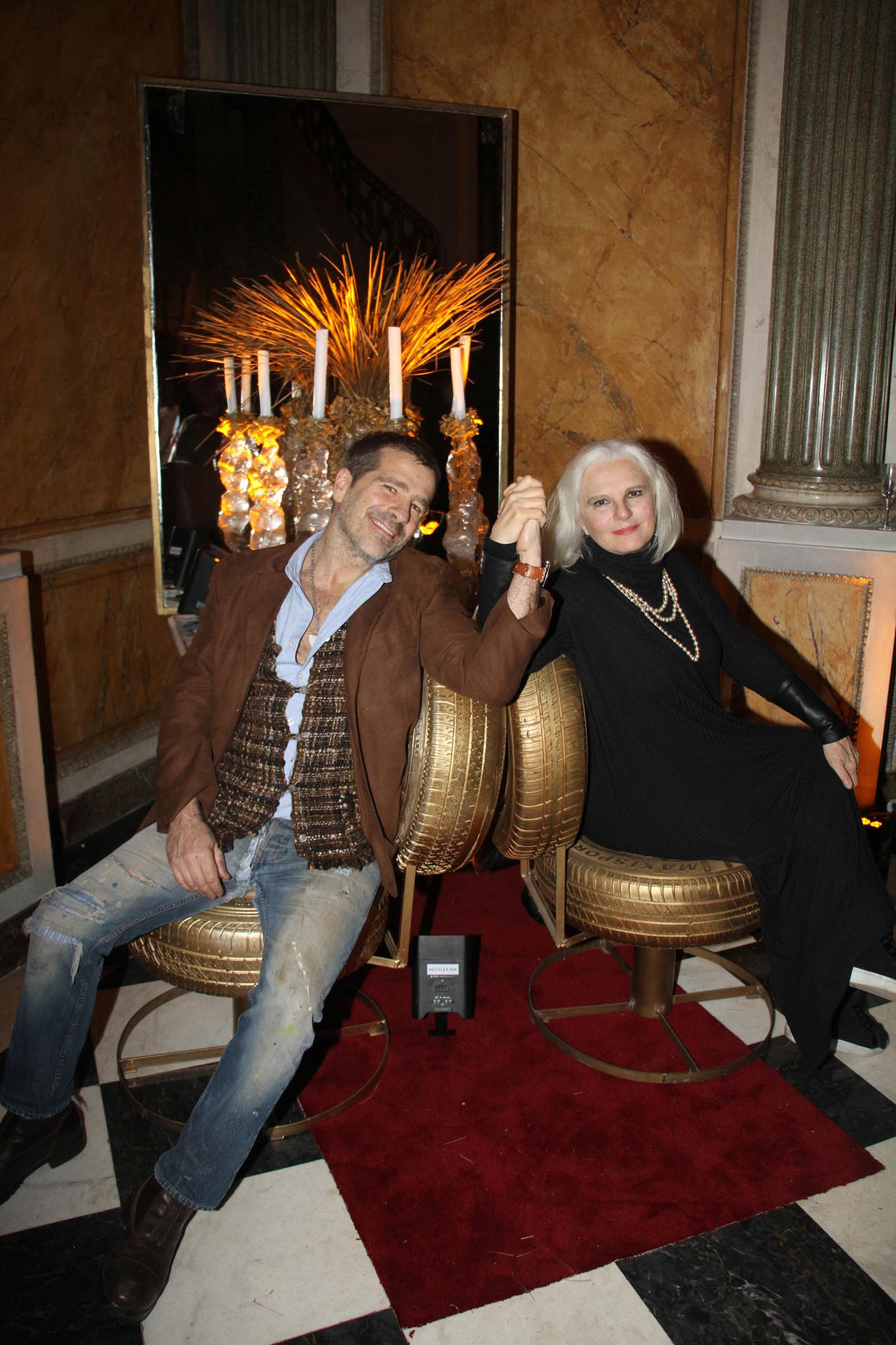 Bony Bullrich y Gloria César