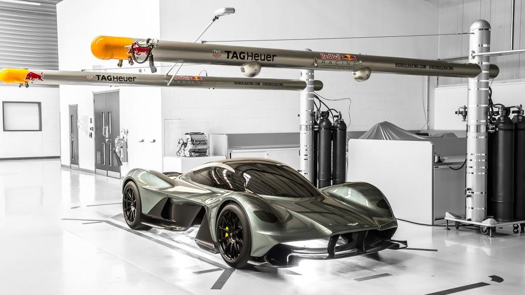 El biplaza de Aston Martin presume de una carga aerodinámica espectacular