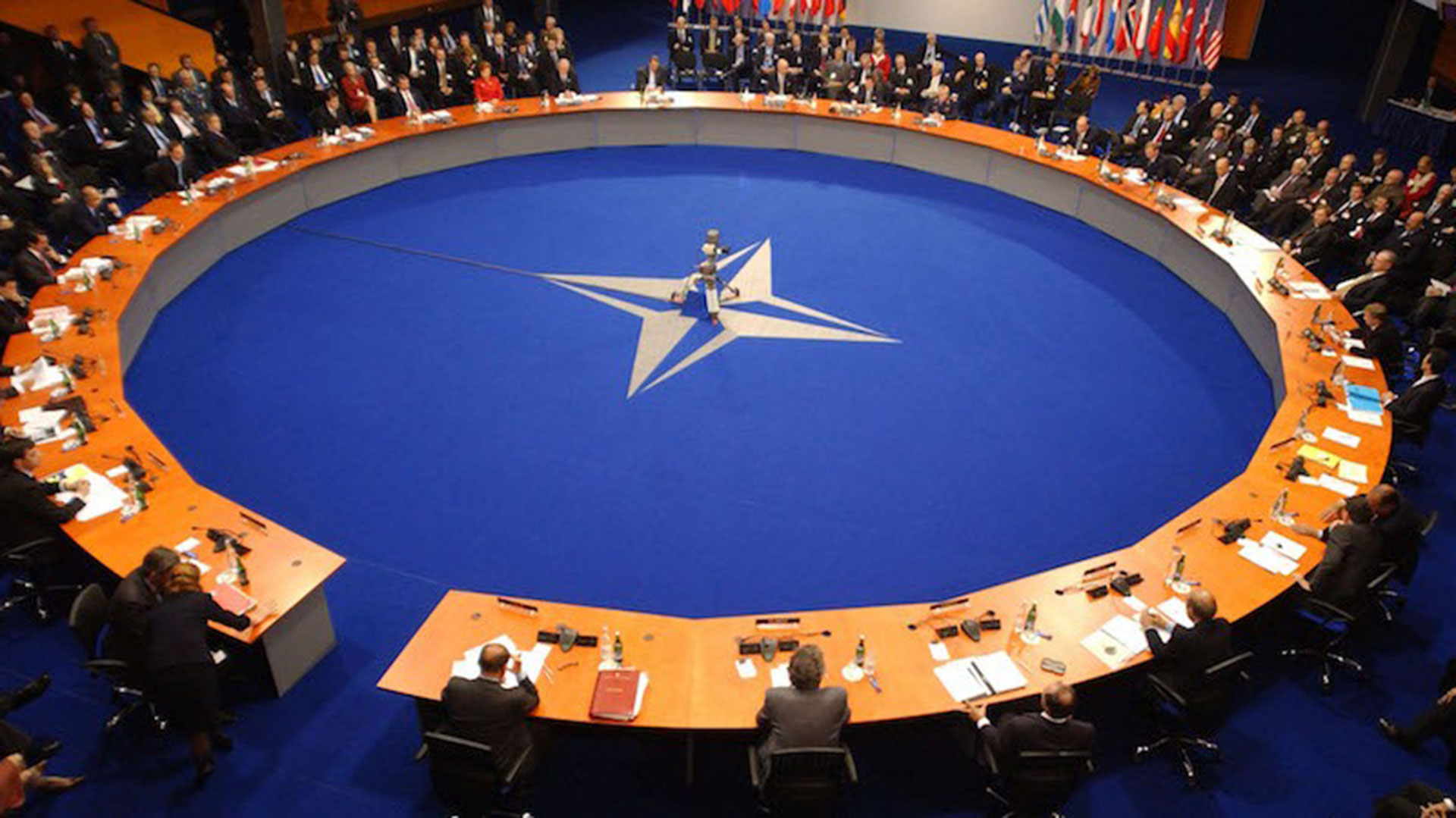 La reciente reunión de la OTAN en Polonia.
