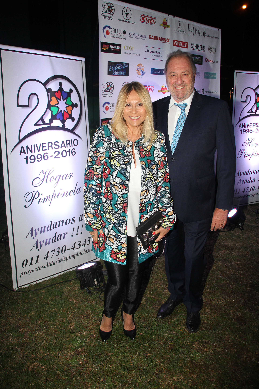 La abogada Ana Rosenfeld y su marido