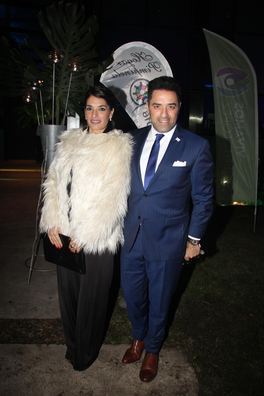 Mariano Iúdica y Romina Propato