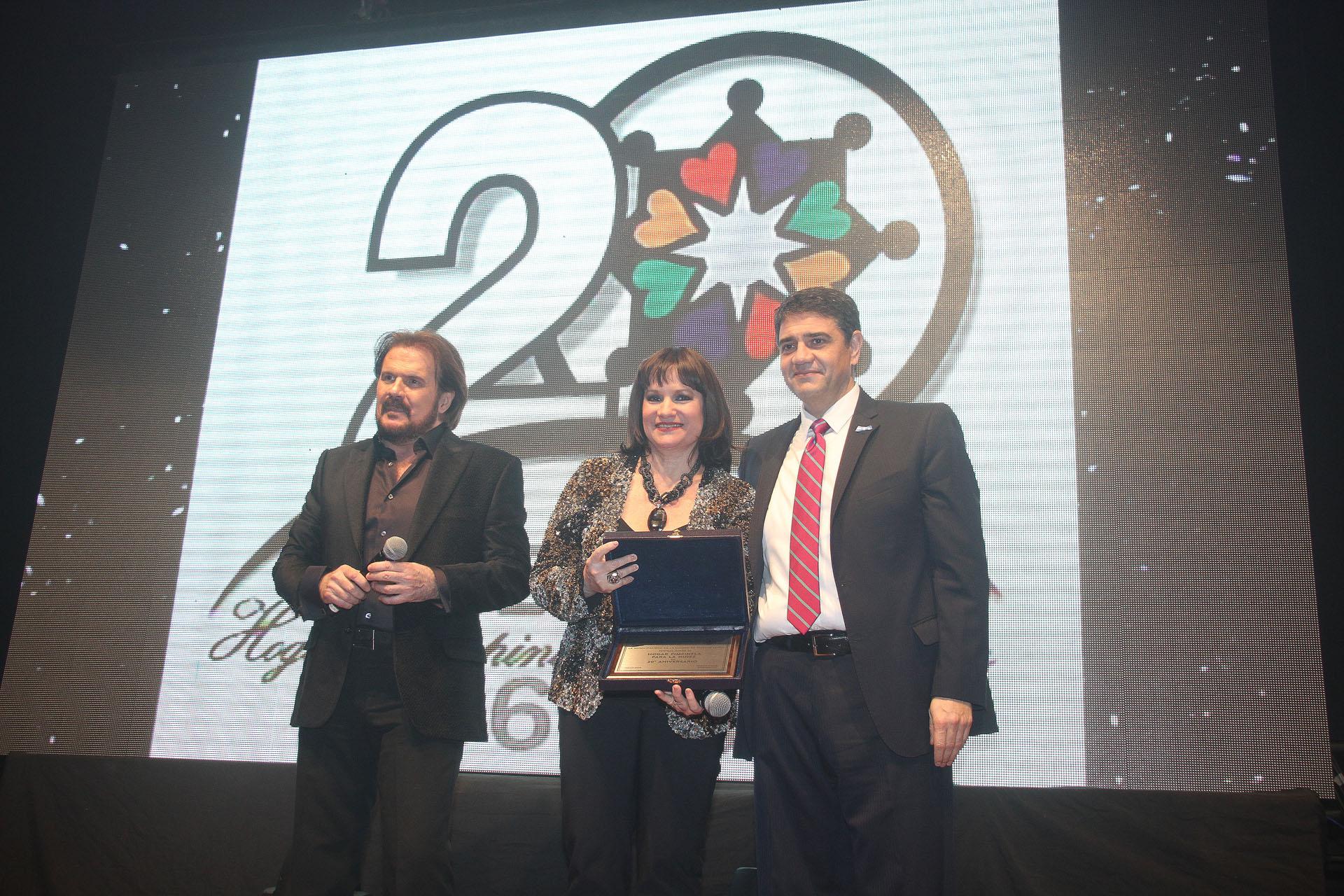 Los Pimpinela y Jorge Macri