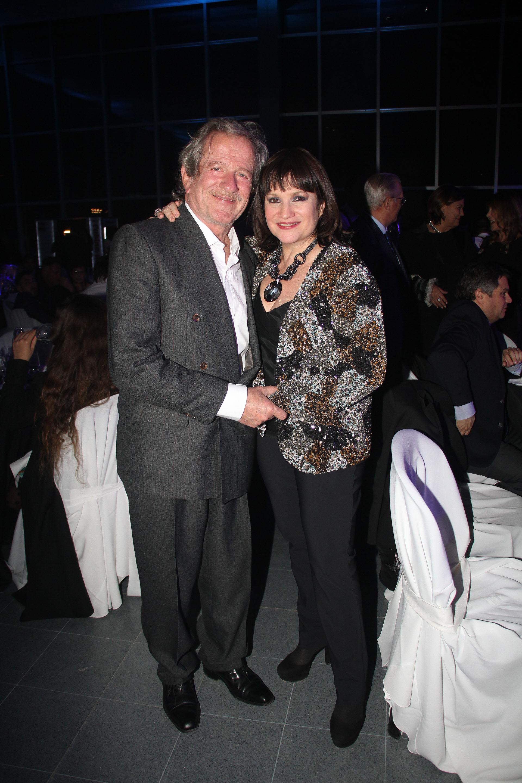 Pablo Alarcón y Lucía Galán