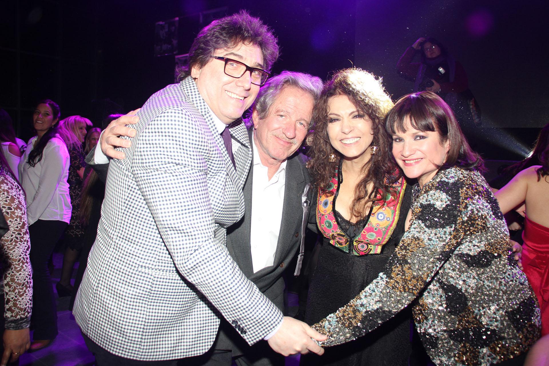 Oscar Mediavilla, Pablo Alarcón, Patricia Sosa y Lucía Galán