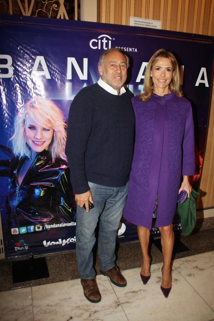 Gustavo Yankelevich y su mujer