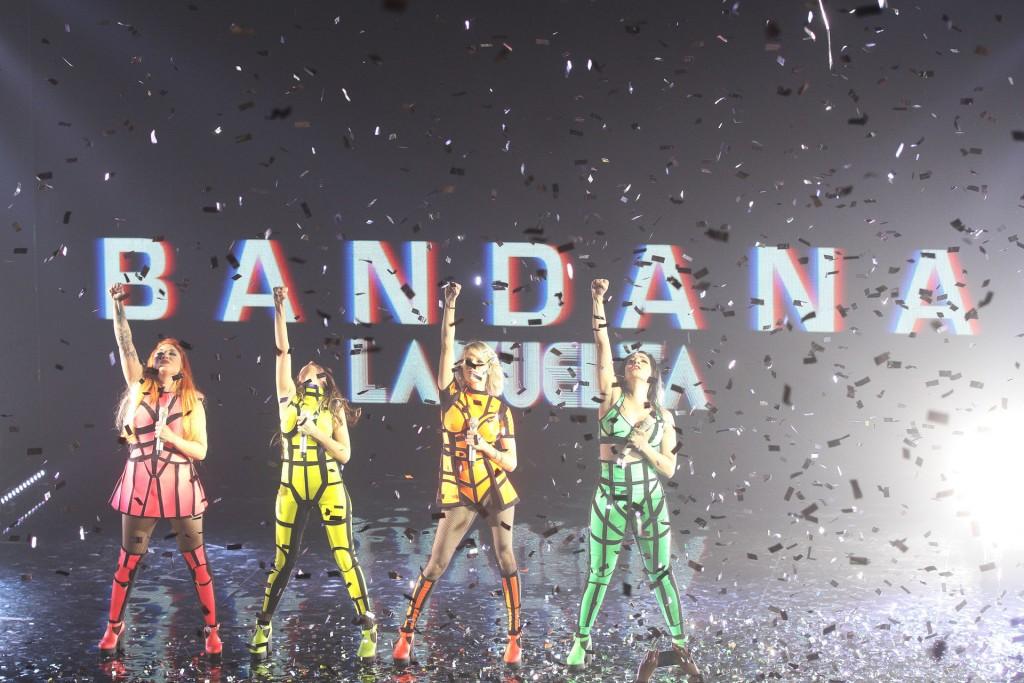 El gran final del show de Bandana