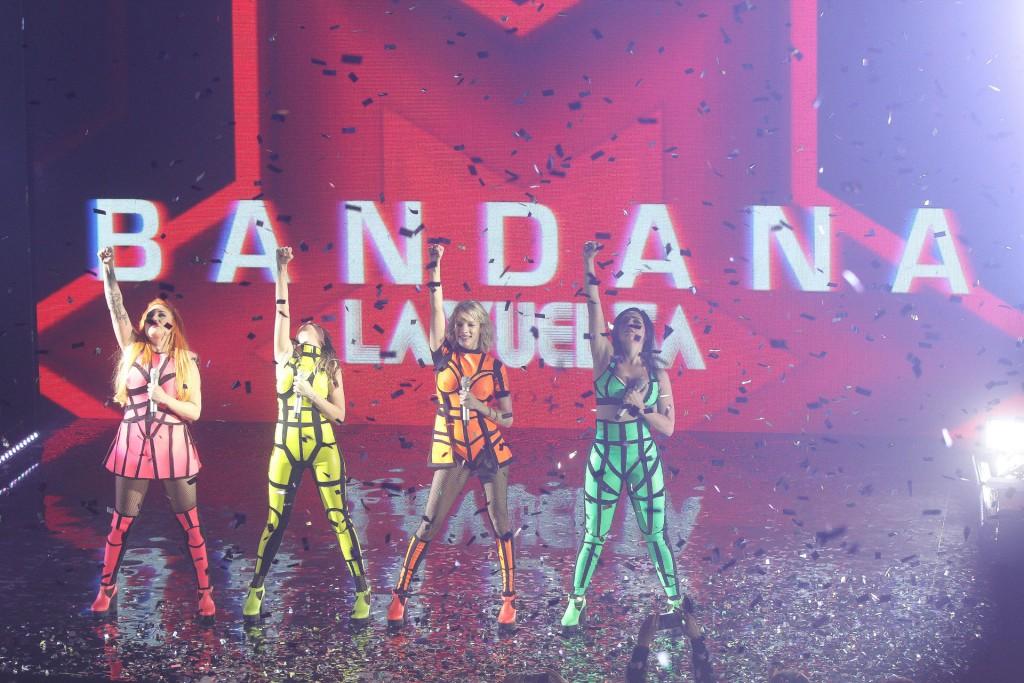 Una fiesta en el show de Bandana