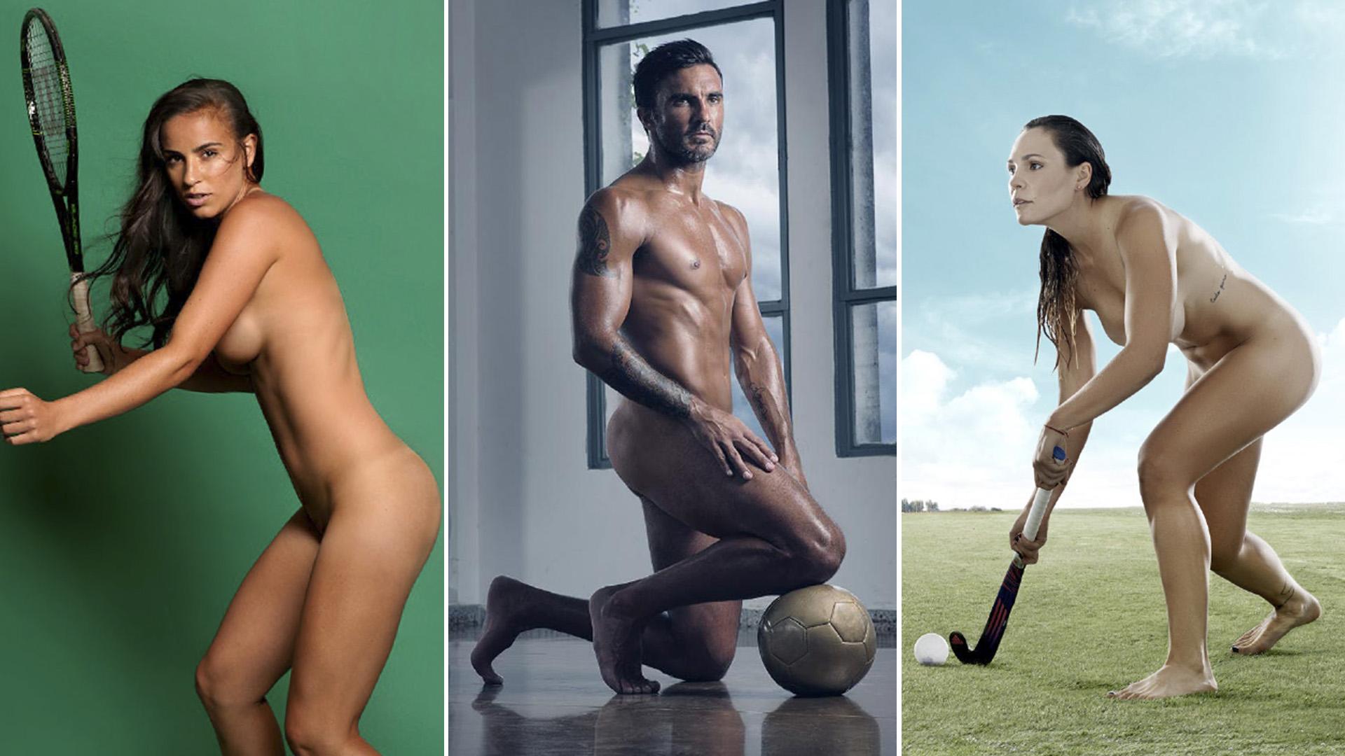 Belen Gimenez Desnuda los 13 deportistas argentinos que posaron desnudos para la