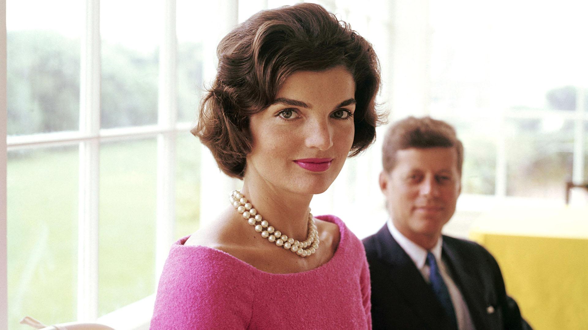 Jackie Kennedy además de ser un ícono de la moda se convirtió en primera dama en 1961