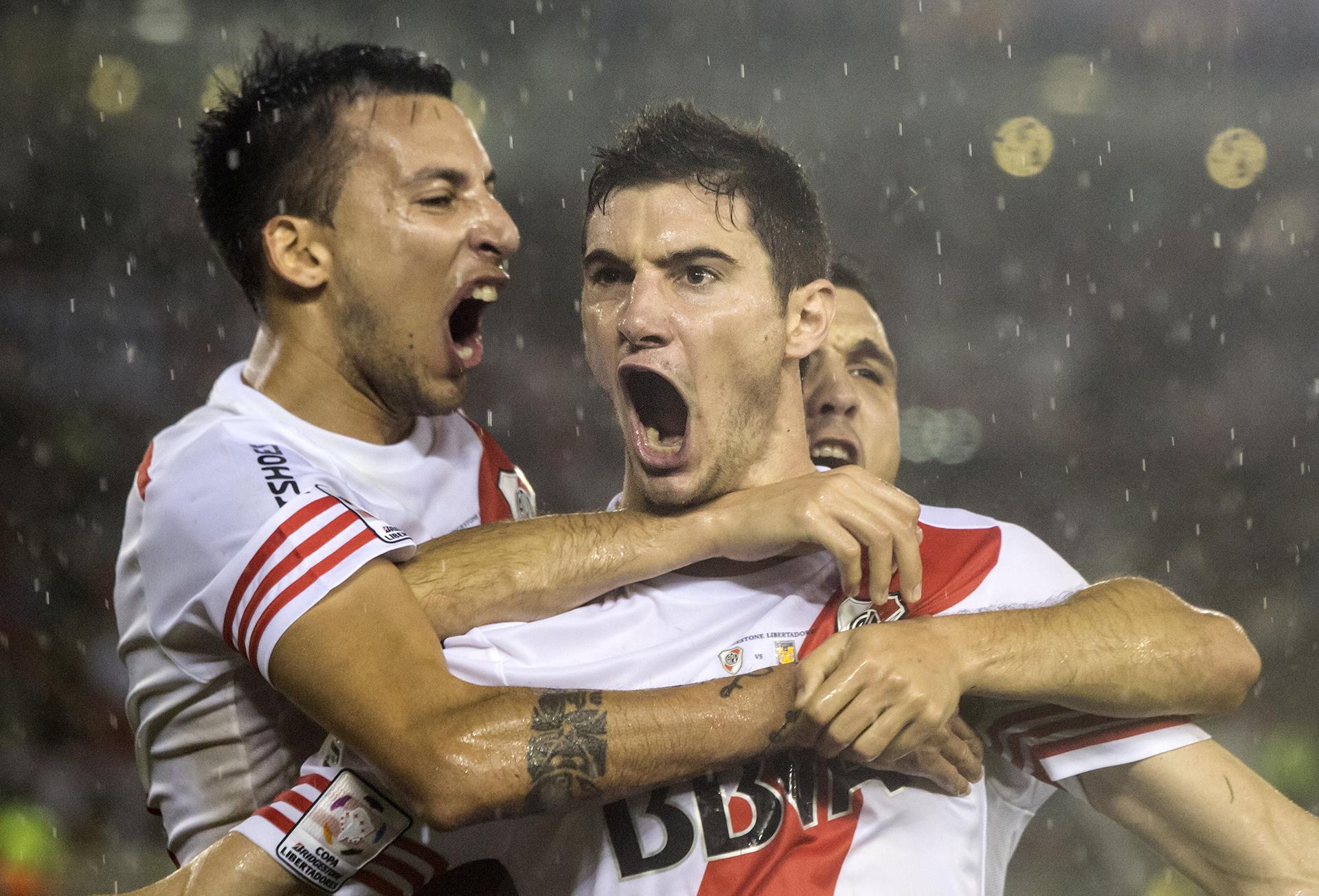 Final del campeonato Copa Libertadores de América en el Estadio Monumental (Daniela Amdan)