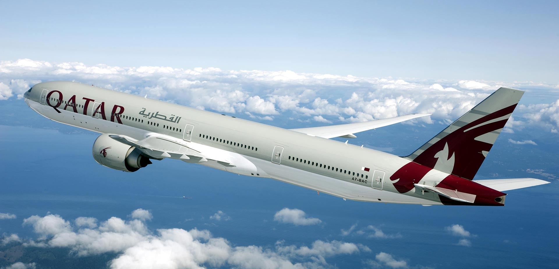 La aerolínea estatal qatarí suspendió sus vuelos en medio de la crisis entre los países del golfo