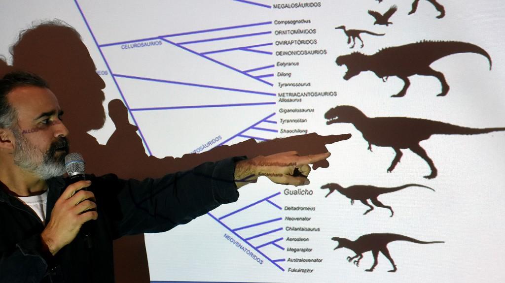 El paleontólogo Sebastián Apesteguía lideró el equipo que halló a Gualicho (Nicolás Stulberg)