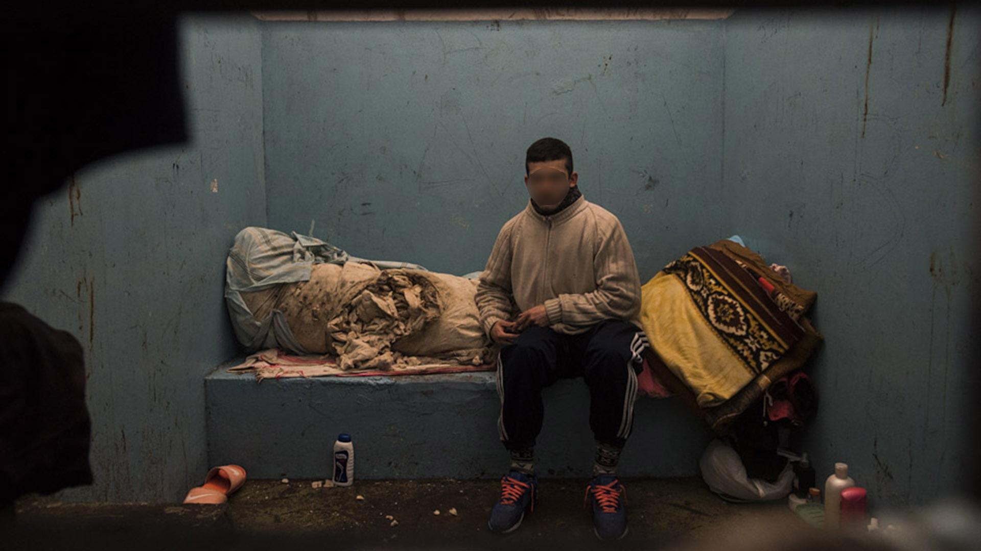 Los detenidos salen apenas 20 minutos por día, no cuentan con agua y están virtualmente incomunicados.
