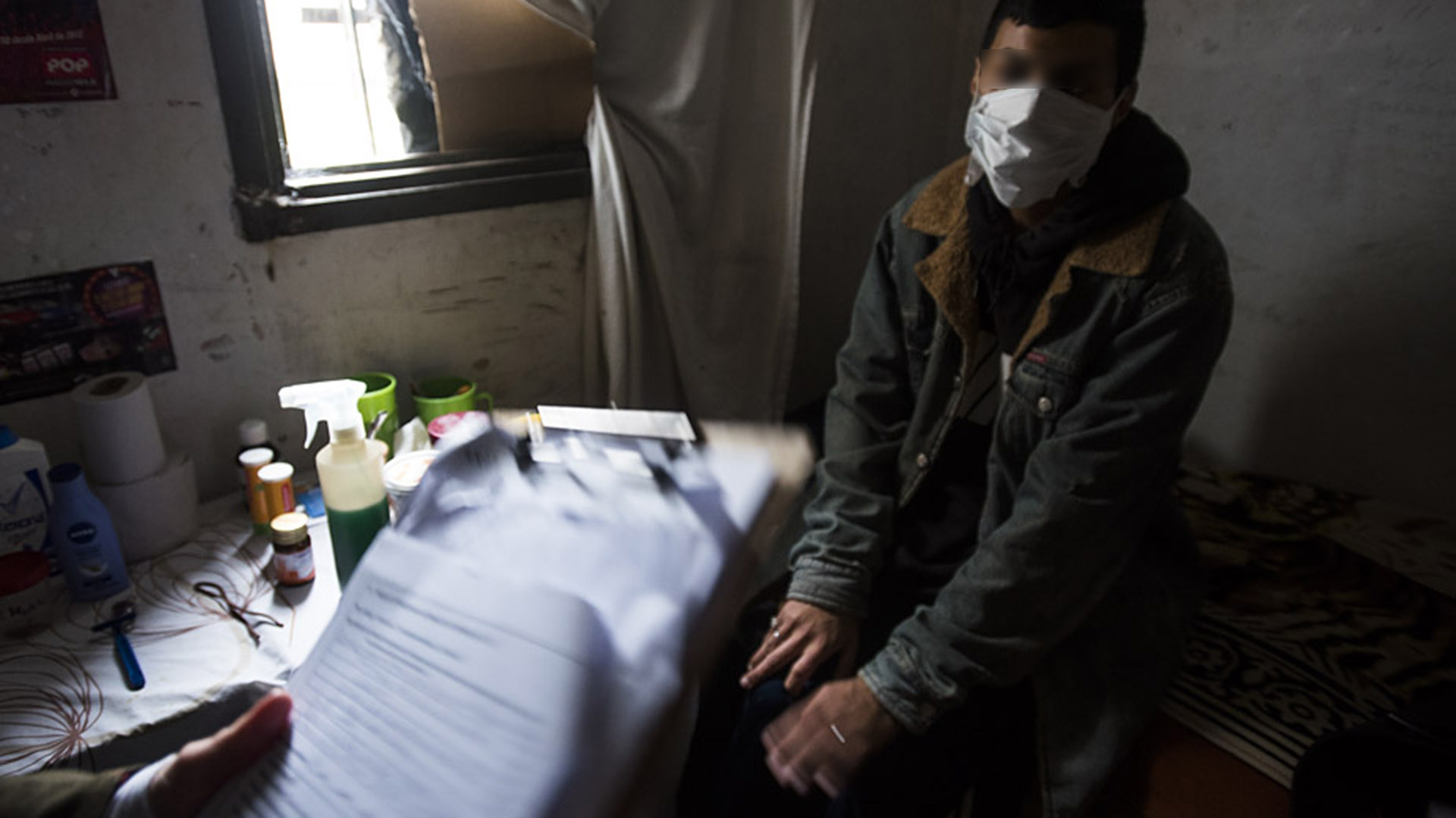 La enfermería de Olmos: presos sin atención.