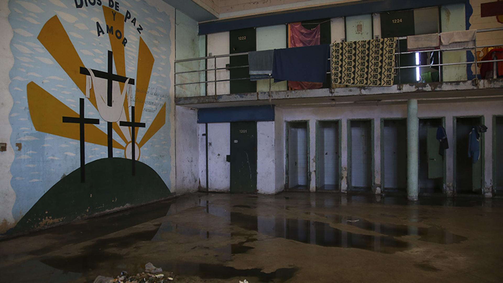 Marcos Paz: el pabellón 7-I, ocupado por presos de mayor peligrosidad.
