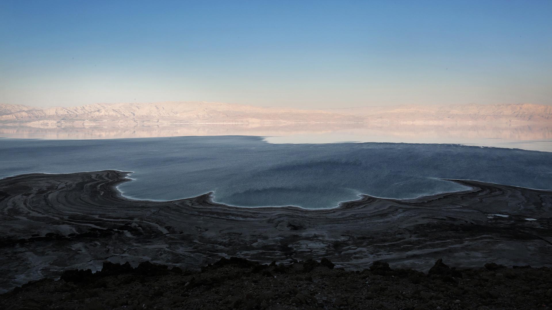 El Mar Muerto se está evaporando (AFP)