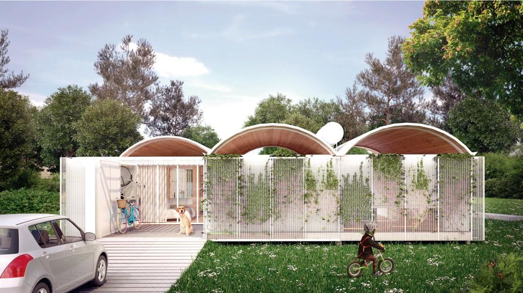 Desde Carballo Errasti Arquitectos presentaron una propuesta innovadora y respetuosa con el medio ambiente
