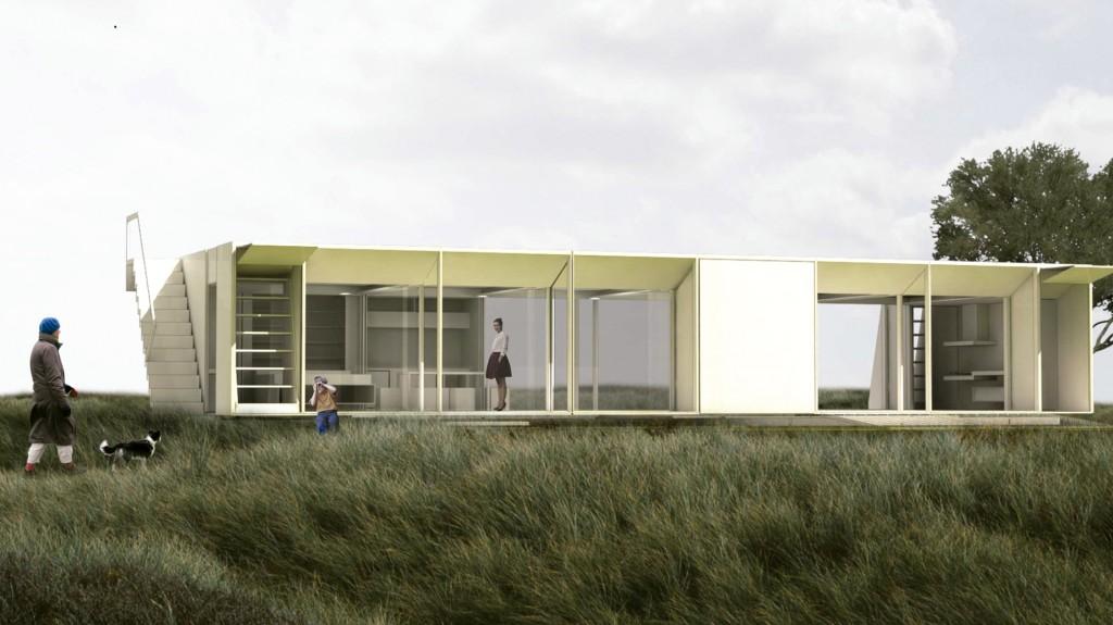 Los vidrios y la funcionalidad predominan en el diseño de STC Arquitectos