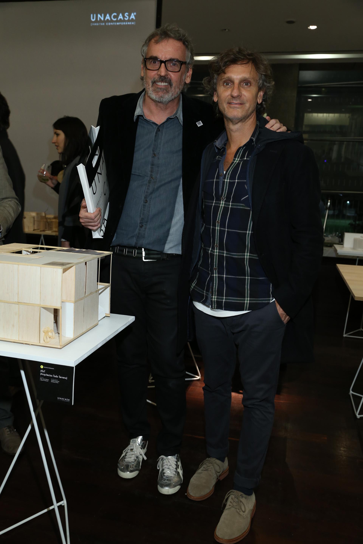 Benito Fernández y Pablo Massey
