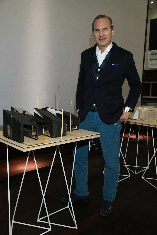 El arquitecto Javier Iturrioz
