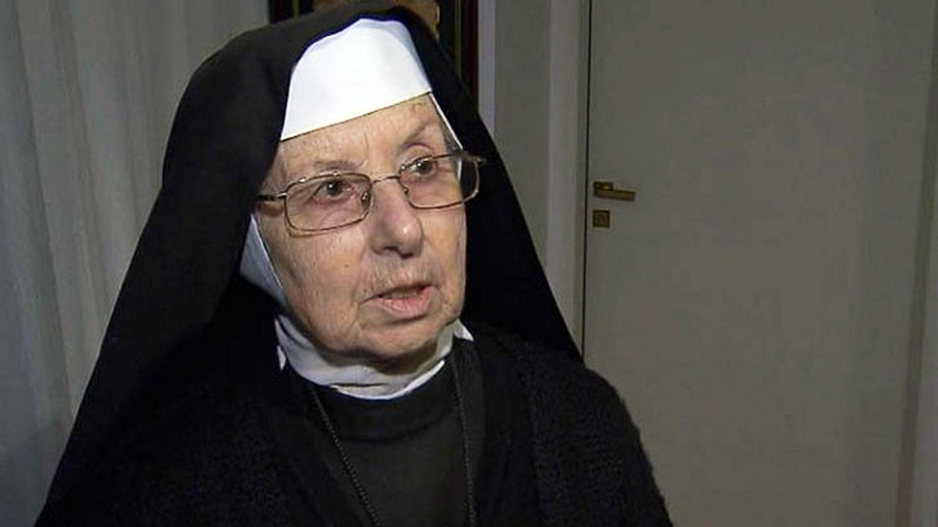 La hermana Inés figura en la fundacióndesde 1999