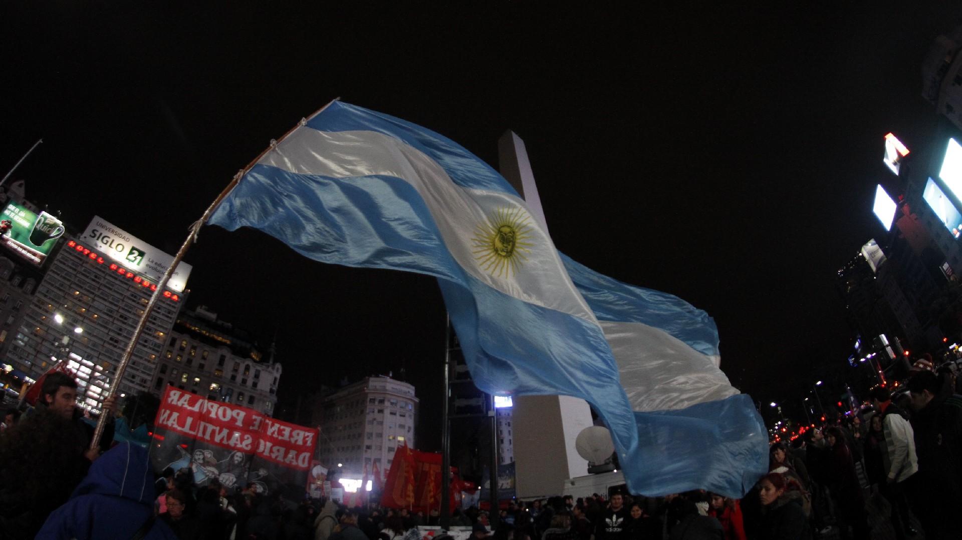 El Obelisco fue el epicentro de las protestas