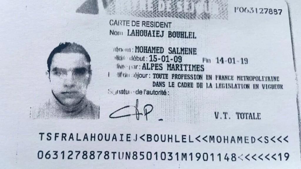 Mohamed Lahouaiej Bouhlel, autor del ataque