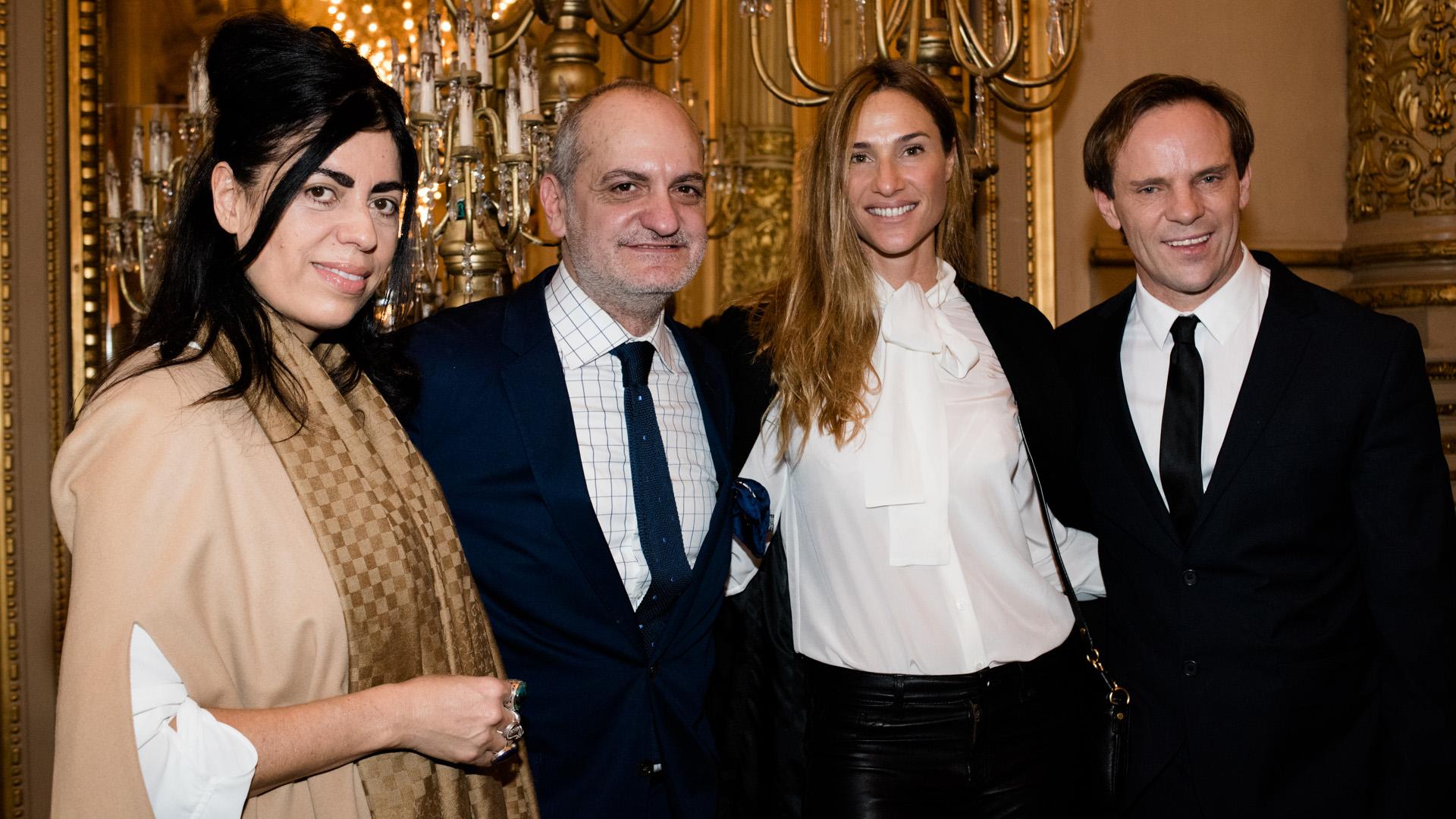 Naná Gallardo, Laurencio Adot, Lara Bernasconi y Thiago Pinheiro