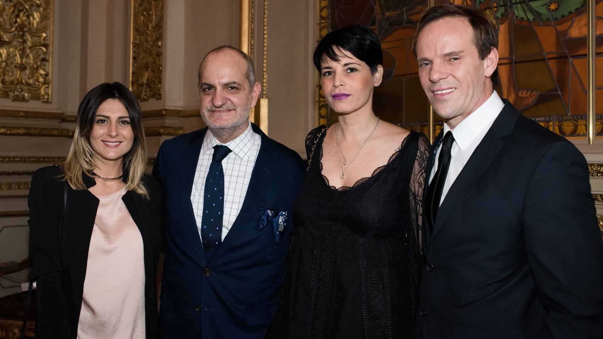 Eva Bernardi, Laurencio Adot, Sol Miranda y Thiago Pinheiro