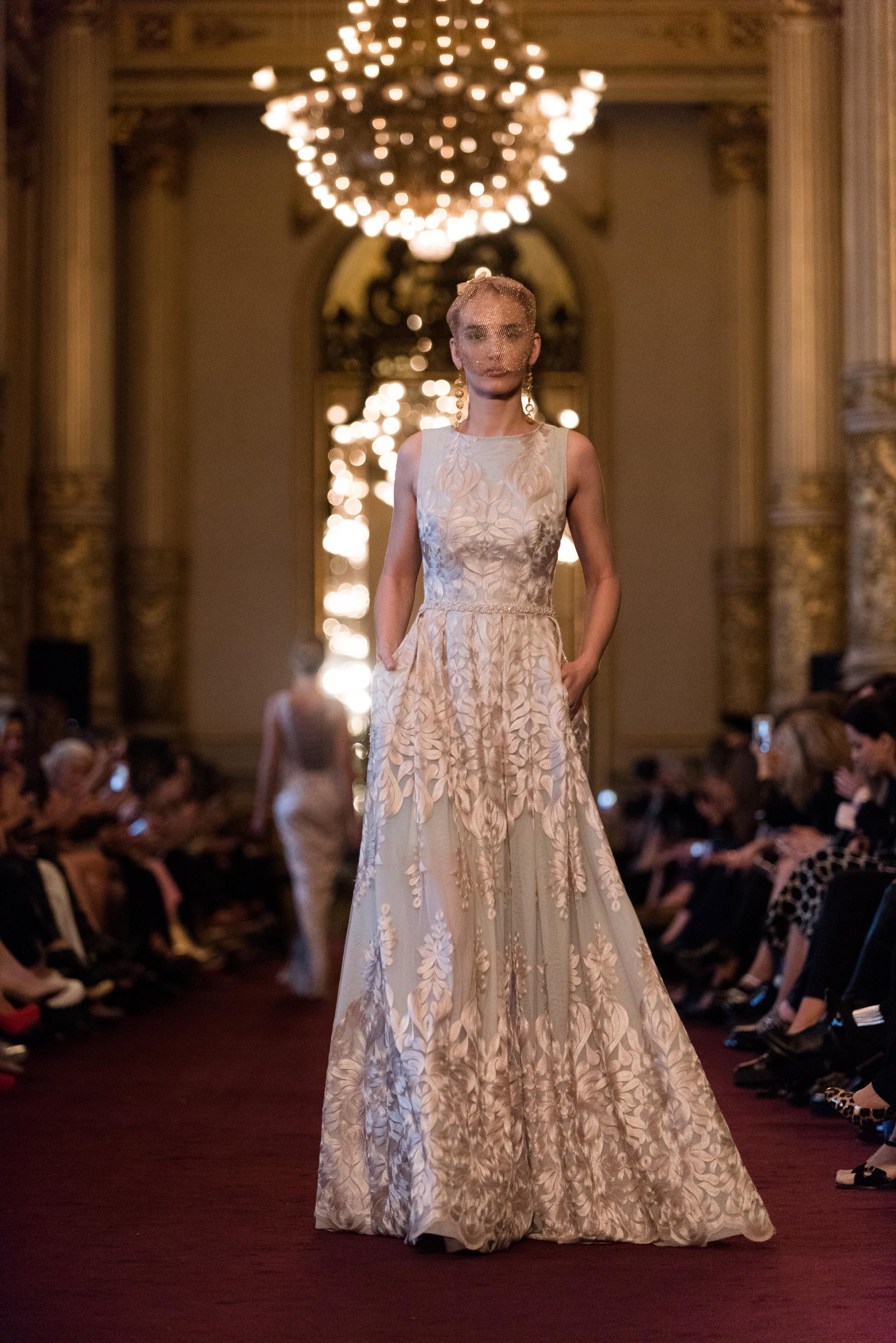 Un fabuloso vestido de gala