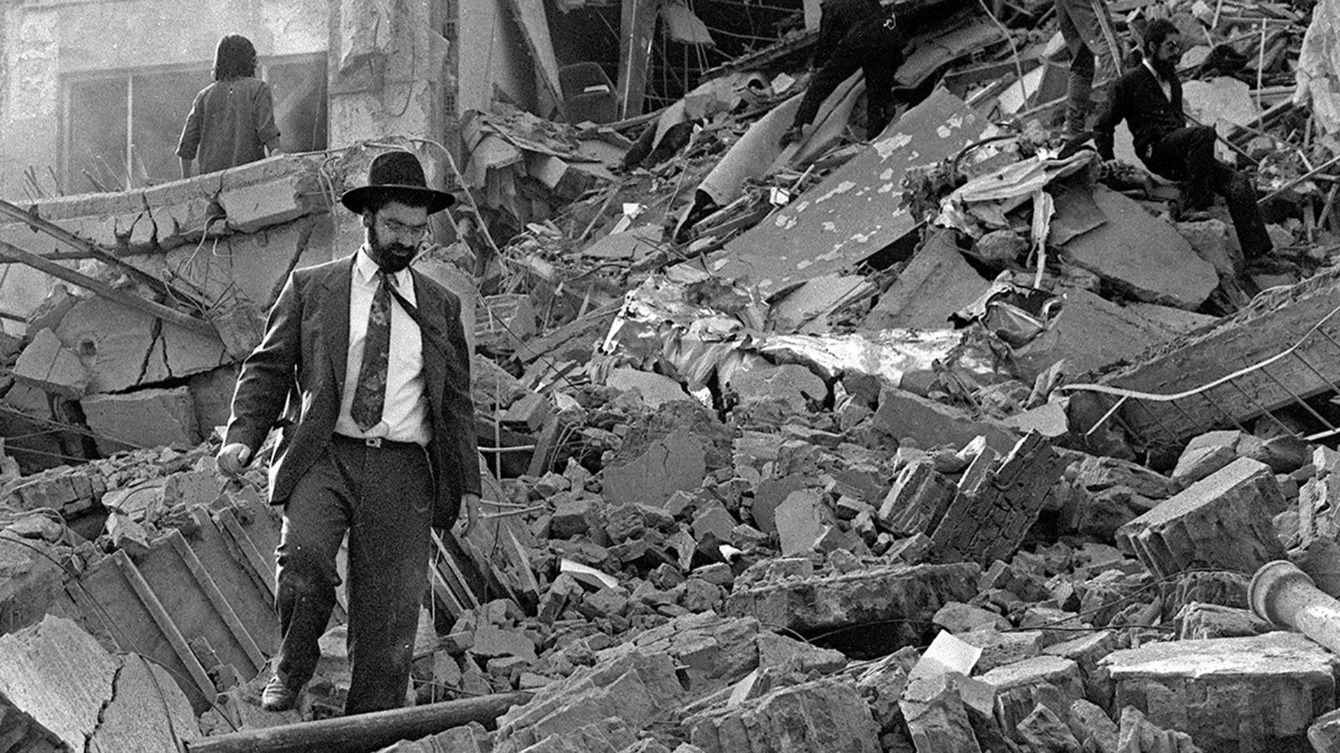 El 18 de julio de 1994 un atentado terrorista se cobró 85 vidas (AFP)