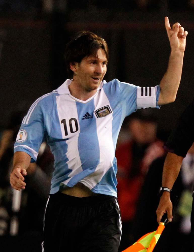 El festejo de Messi que confirmó el primer embarazo de Antonella Roccuzzo