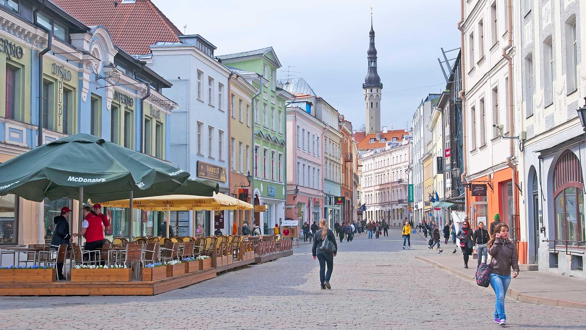 Tallin, la capital de Estonia, sobre el Mar Báltico (Shutterstock)