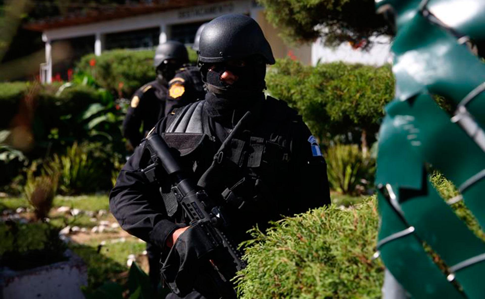 Policía de Guatemala.