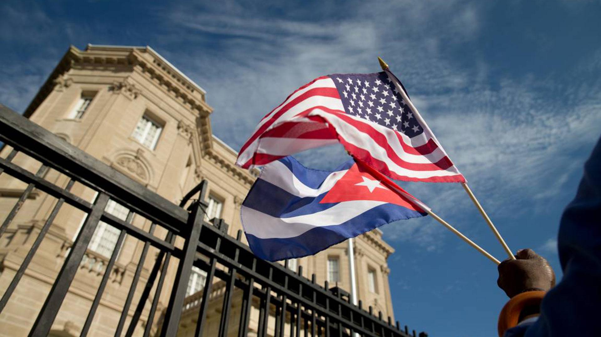 La embajada de Cuba en EEUU (AFP)