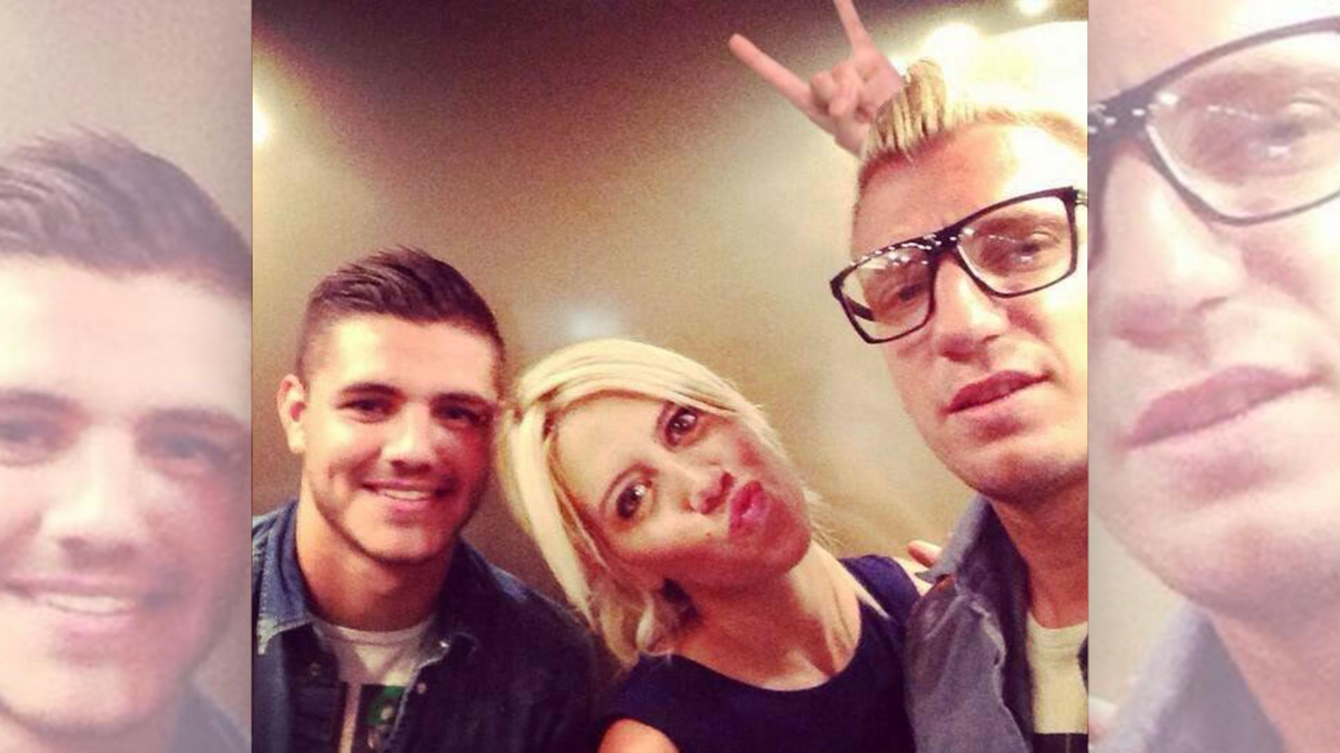 Mauro, Wanda y Maxi: otros tiempos…