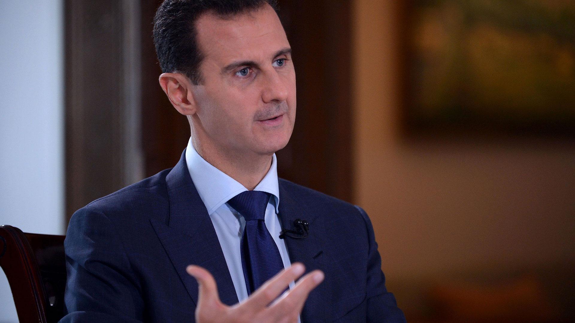Bashar al Assad, presidente de Siria (AFP)