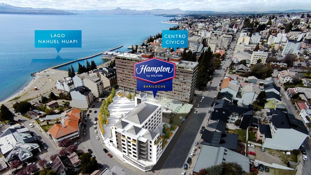 Hampton by Hilton cuenta con la mejor ubicación en toda la ciudad