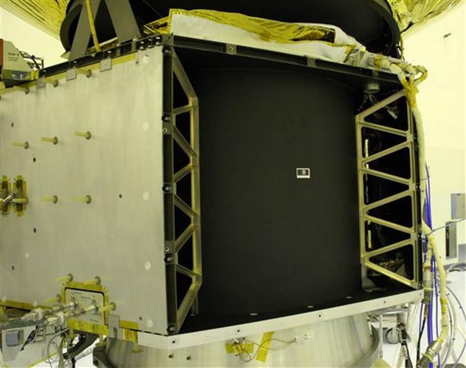 """La foto muestra la estampilla de 1991 llamada """"Plutón todavía no ha sido explorado"""" (NASA / John Hopkins University Applied Physics Laboratory)"""
