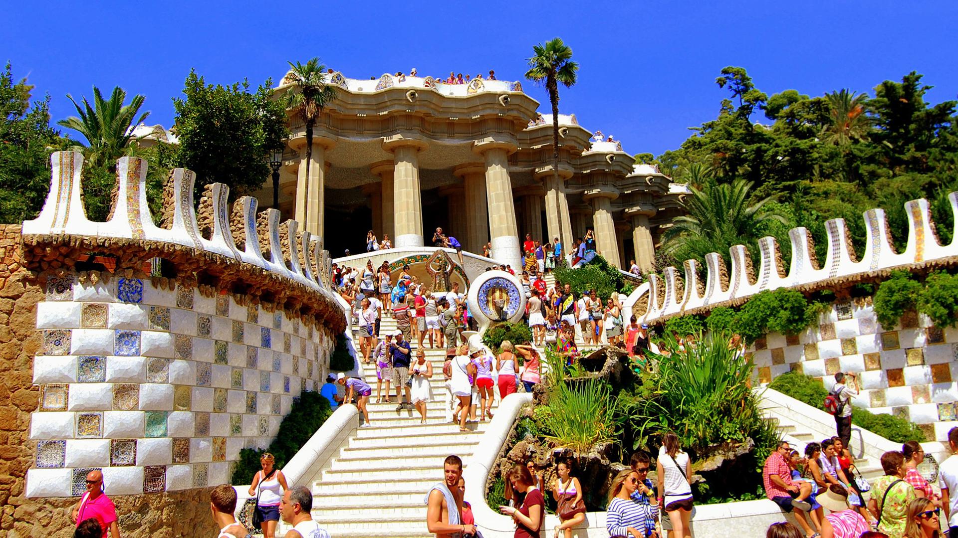 La obra de Gaudí estuvo muy influenciada por la formas de la naturaleza