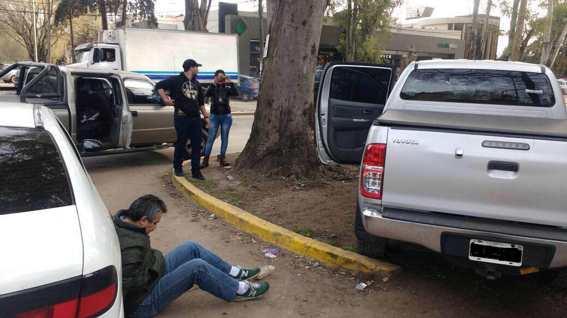 Reynaldo Castedo fue detenido tras ocho años prófugo (Télam)
