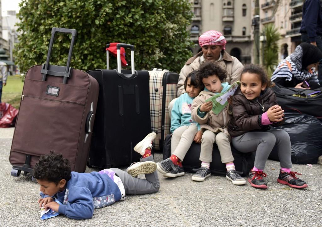 Algunas familias sirias en Uruguay no lograron adaptarse y decidieron irse del país (AP)