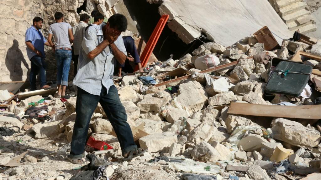 Ruinas en Alepo: desde 2011 la guerra en Siria causó más de 280.000 muertos y cerca de 4 millones de refugiados (AFP)