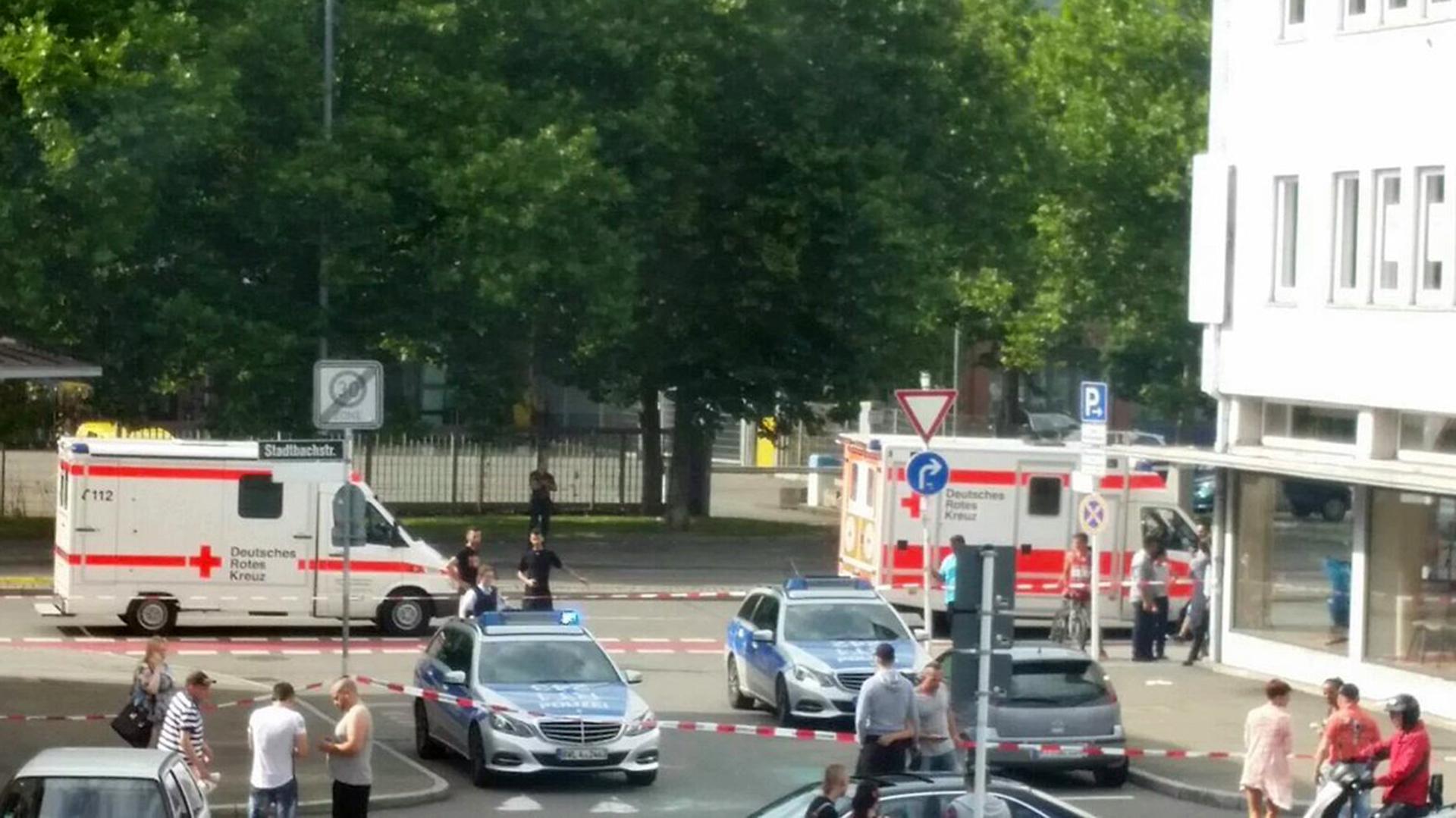 Un ataque con un machete fue registrado en la ciudad de Reutlingen (@UKPegida)