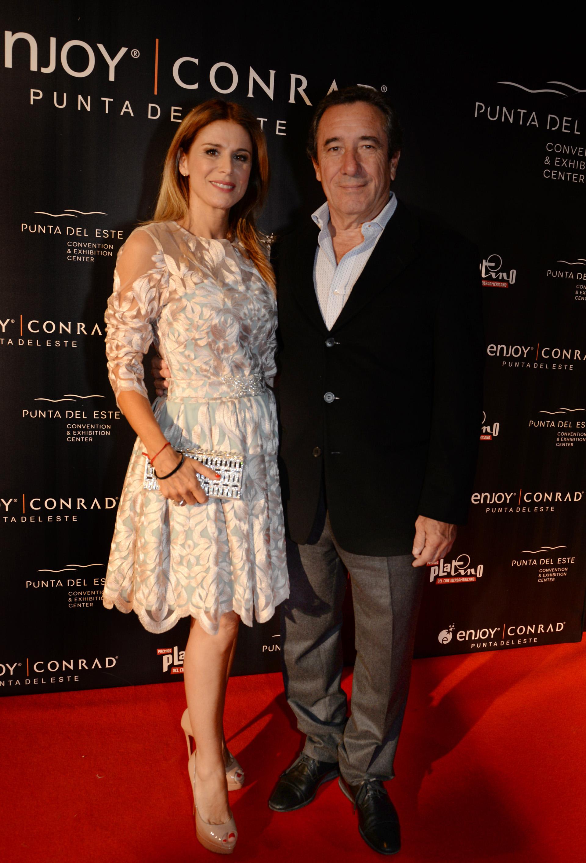 Flavia Palmiero y Luis Scalella