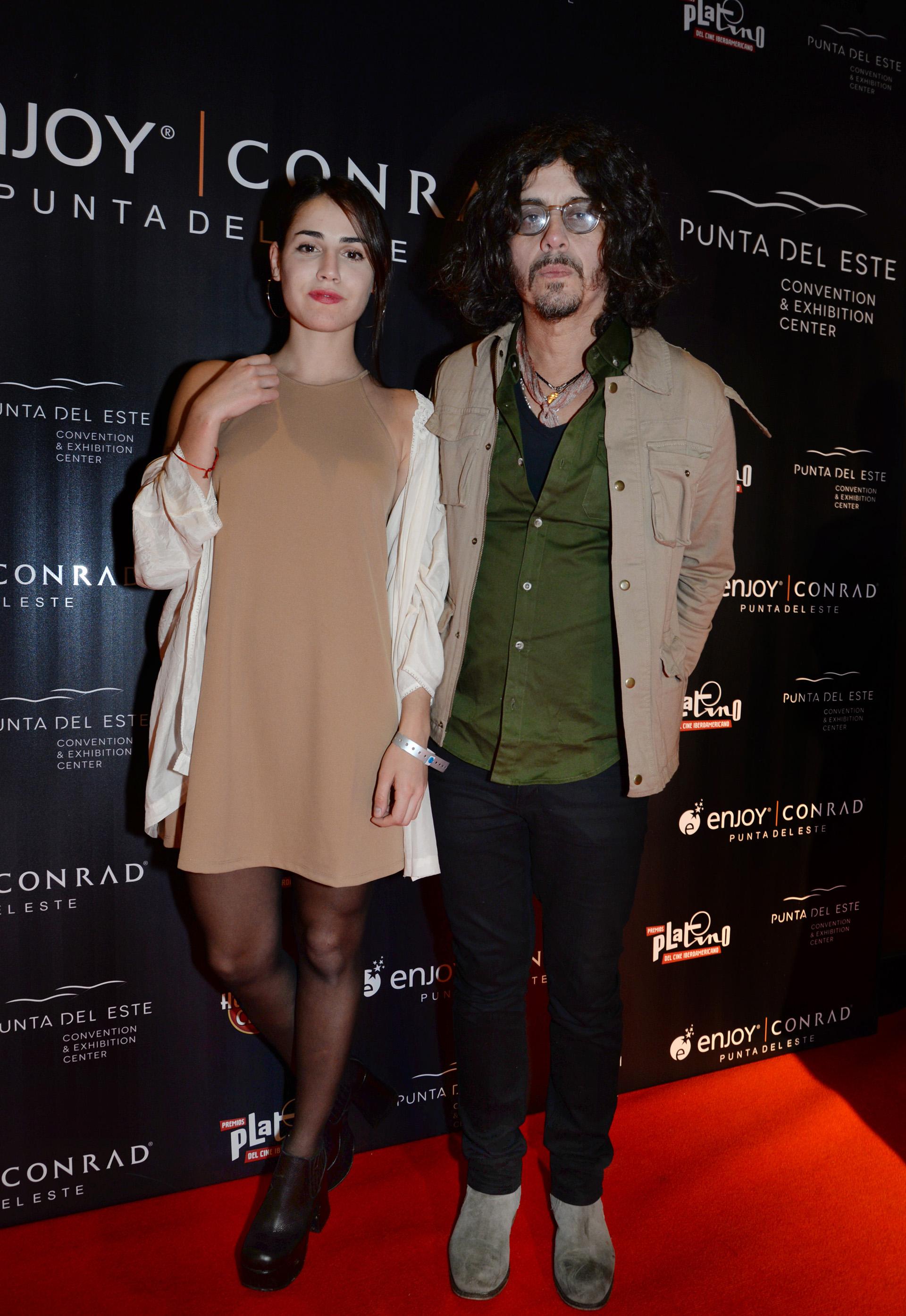 """Fabián """"Zorrito"""" Von Quintiero y su novia Martina Galli Agulla"""